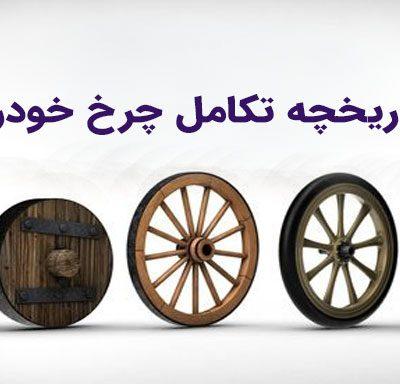 تاریخچه چرخ خودرو